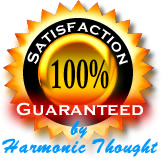 Backed by the Harmonic Thought 60 day, 100% full money back guarantee.